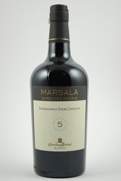 Marsala 5 anni Riserva, Caruso & Minini
